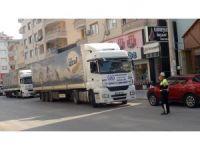 İHH Suriye'ye 50 ton su gönderdi