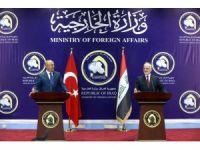 """Çavuşoğlu: """"DEAŞ'ın temizlenmesi için Irak'ı desteklemeye devam edeceğiz"""""""