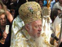 Bartholomeos Kirazlı Manastırı'nda ayin yönetti