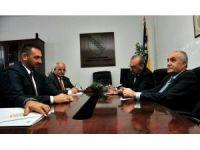 Bakan Fakıbaba, Bosna Hersekli Bakan Edin Ramic'i ziyaret etti