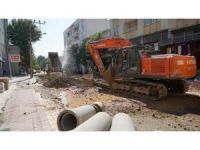 Eski Kahta Caddesindeki altyapı çalışmalarında sona gelindi