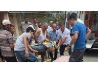 Hatay'da inşaattan düşen Suriyeli işçi öldü