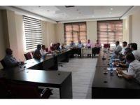 Başkan Cabbar'dan birim müdürleriyle toplantı