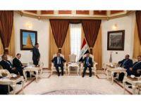 Dışişleri Bakanı Çavuşoğlu,  Irak Meclis Başkanı Cuburi ile görüştü