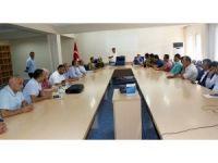 Hakkari'de SGK ve İŞKUR tarafından bilgilendirme toplantısı düzenledi
