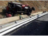 Elazığ'da arazöz devrildi: 1 ölü