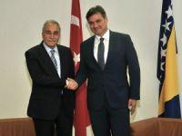 Bakan Fakıbaba, Bosna Hersek Bakanlar Kurulu Başkanı ile görüştü