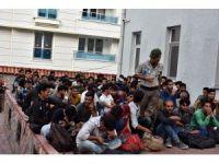 Kastamonu'da 137 kaçak göçmen yakalandı