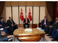 Cumhurbaşkanı Erdoğan, Katar Savunma Bakanı'nı kabul etti