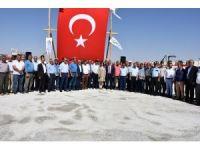 Ortaköy Tarım Ticaret Merkezinin 2. etap temel atma töreni gerçekleştirildi