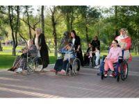 Başkan Yazgı'nın eşi engelli kadınlarla bir araya geldi