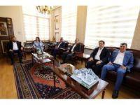 AK Parti heyeti Vali Aykut Pekmez ile görüştü