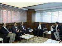Kansere Karşı Birlik Derneği Yönetimi Başkan Çelik'i ziyaret etti