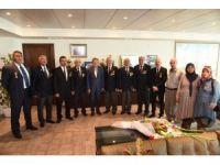 Gazilerden Başkan Uğur'a ziyaret