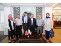 Türkiye Harp Malulü Gaziler Şehit Dul ve Yetimler Derneği'nden Melikgazi'ye ziyaret
