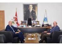 Başkan Albayrak, AK Parti Milletvekili Akgün'ü ağırladı
