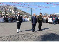 Kuşadası'nda Gaziler Günü kutlaması