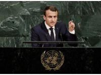 """Macron: """"Trump'ın Paris anlaşması konusunda fikrini değiştireceğinden eminim"""""""