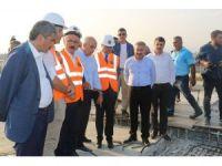 Bakan Elvan, Liman-Hal kavşağındaki çalışmaları inceledi