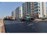 Büyükşehir Belediyesi, caddelere 304 bin ton asfalt serdi