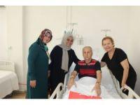 Başkan Koç'tan GATA'da yatan gazilere ziyaret