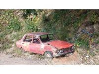 Sokağa terk edilen hurda araç sahiplerine ceza