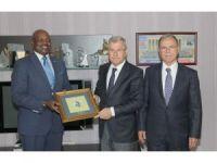 """Büyükelçisi Nkurunziza: """"Adana, Ruanda için ürün tedarik merkezi olabilir"""""""