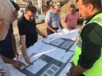 Genel Sekreter Bayram yapımı devam eden Gençlik Merkezi'ni inceledi