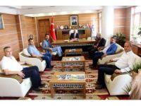 AK Parti İl Başkanı'ndan Müftü'ye ziyaret