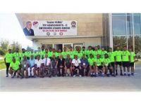 C lisans futbol antrenörlük kursu başladı