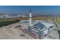 Çimşit Mezarlığı Camii ekim sonunda açılacak