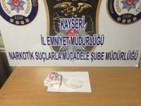 Develi'den sonra Sarız ilçesinde uyuşturucu operasyonu yapıldı