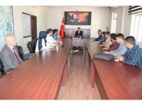 Tekin Dundar, belediyenin teknik kadrosuyla bir araya geldi