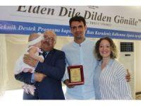 """""""Elden Dile Dilden Gönüle"""" projesinde sertifikalar verildi"""
