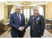 Başbakan Yıldırım, Jandarma Genel Komutanı Orgeneral Çetin'i kabul etti