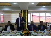 Vali Gül, Gıda Toptancıları Kooperatifi üyeleri ile bir araya geldi