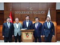 Yılmaz, Diyarbakır'da incelemelerde bulundu