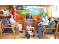 İHA heyetinden Başkan Aksoy'a ziyaret