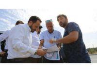 BSO Başkanı Uğur Ayvalık'ta incelemelerde bulundu