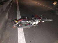 Trafik kazasında ehliyetsiz motosiklet sürücüsü hayatını kaybetti