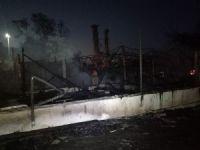 Bakırköy'de Ahşap Bir Restoranda Yangın Çıktı