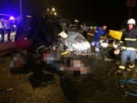Antalya'da feci kaza: 4 ölü
