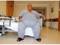250 kiloya ulaşınca, zayıflamak için tüp mide ameliyatı olmaya karar verdi