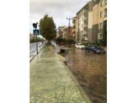 Kırıklareli'de sağanak yağış hayatı felç etti