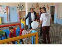 Harran'da Zübeyde Hanım Anaokulu baştan donatıldı