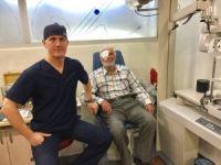Görme yetisini kaybeden hasta vitrektomi ile yeniden görmeye başladı