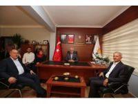 "Başkan Dişli'den, Ak'a ""Hayırlı Olsun"" ziyareti"