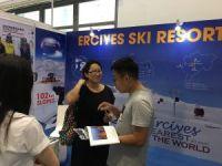 Erciyes, Çinde düzenlenen Dünya Kış Sporları Fuarı'nda görücüye çıktı