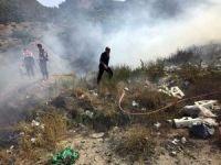 Kastamonu'da çöp alanında yangın