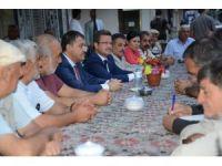 Vali Ünlü vatandaşlar ile bir araya geldi